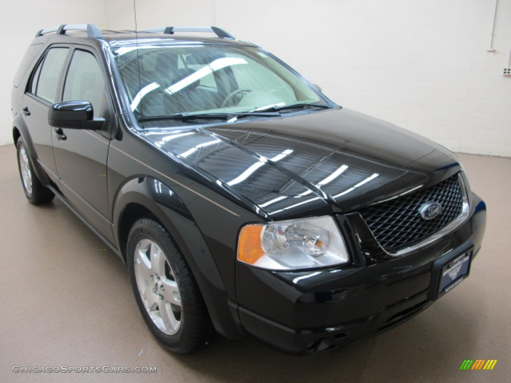 2006 Freestyle Limited AWD - Black / Pebble Beige photo #1