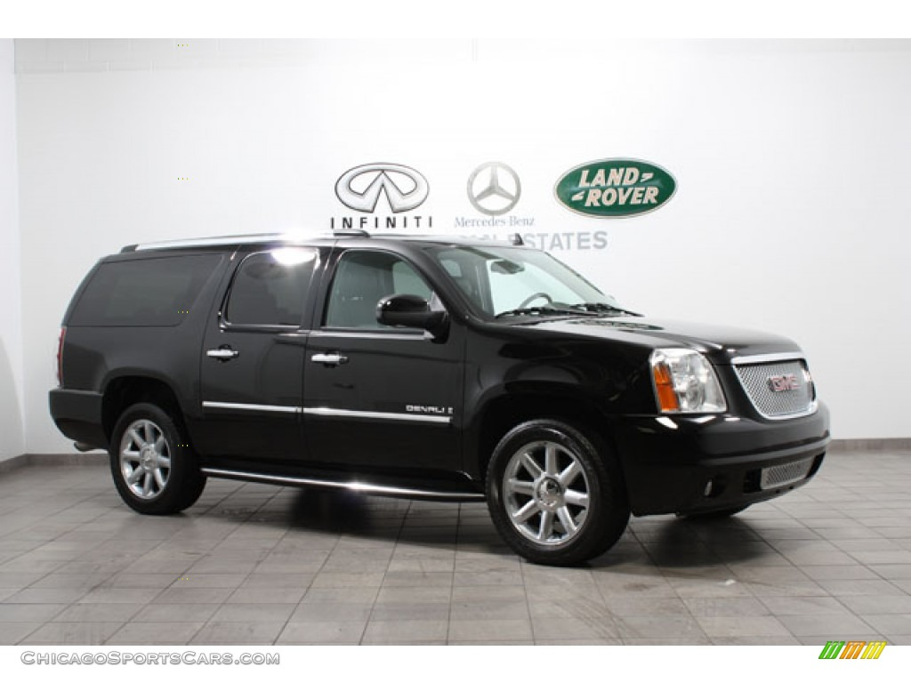 2009 Yukon XL Denali AWD - Onyx Black / Ebony photo #1