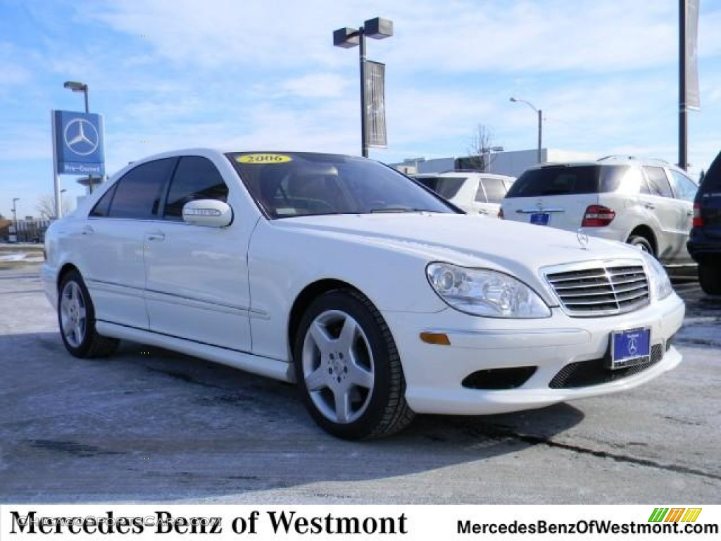 2006 mercedes benz s 430 4matic sedan in alabaster white for Mercedes benz of westmont il