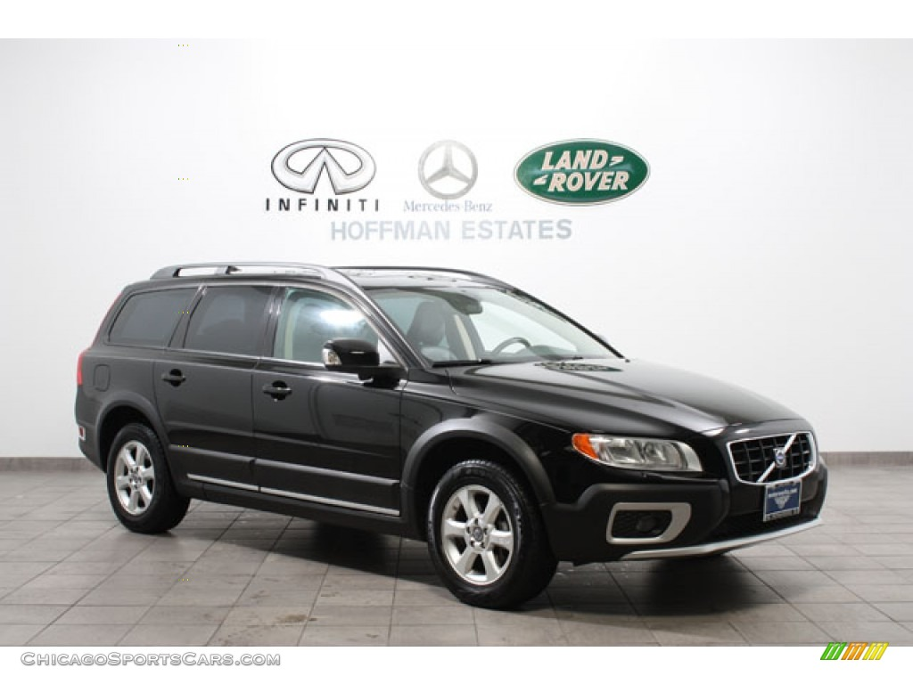 Black / Off Black Volvo XC70 3.2 AWD