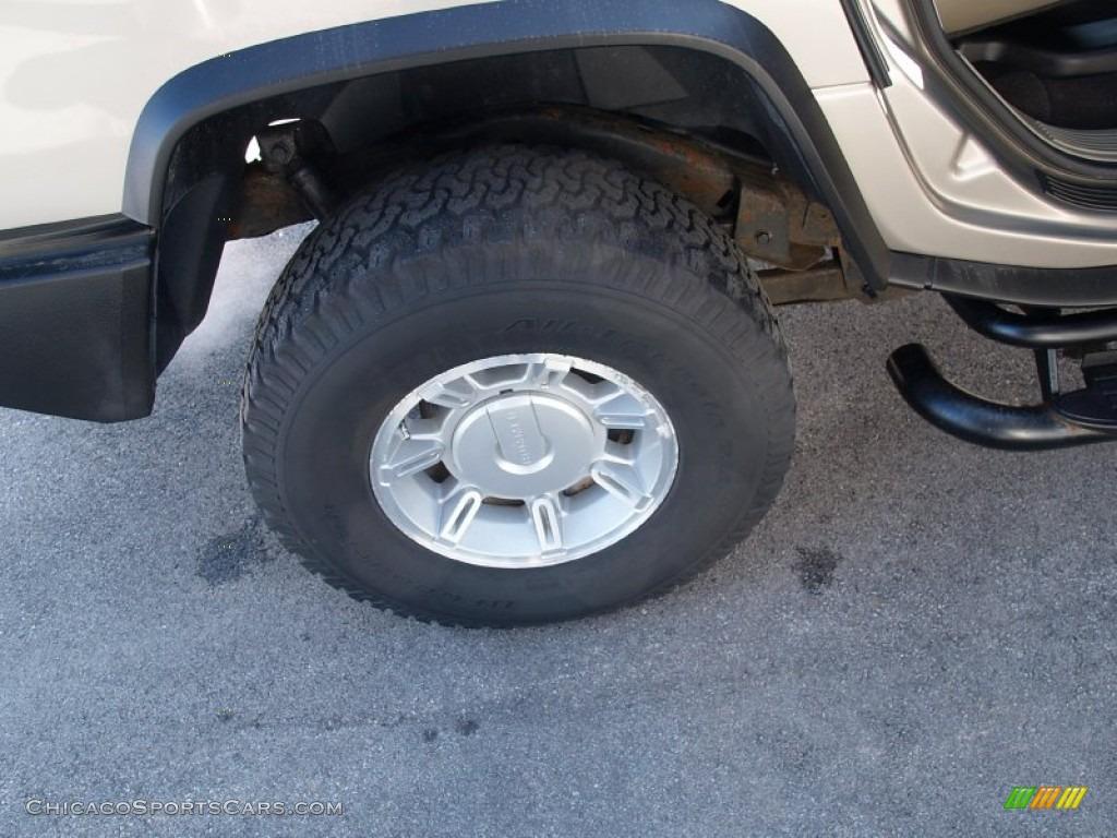 2003 H2 SUV - Pewter Metallic / Wheat photo #57