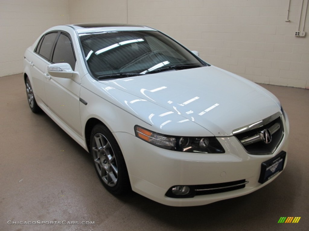 White Diamond Pearl / Ebony/Silver Acura TL 3.5 Type-S