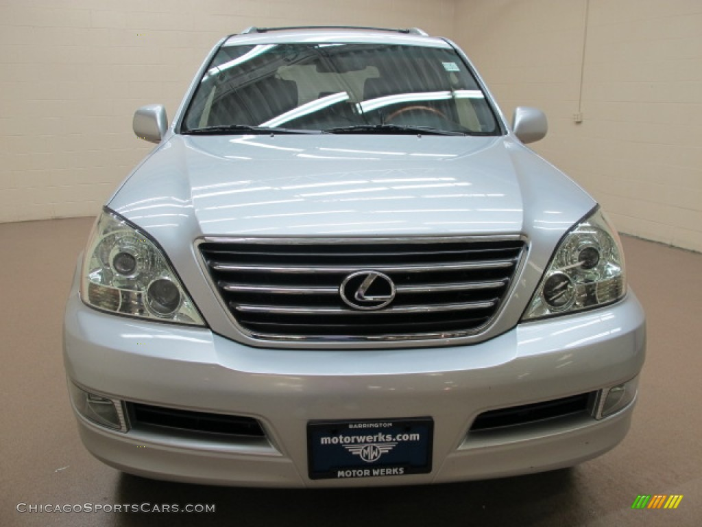 2007 GX 470 - Titanium Metallic / Dark Gray photo #2