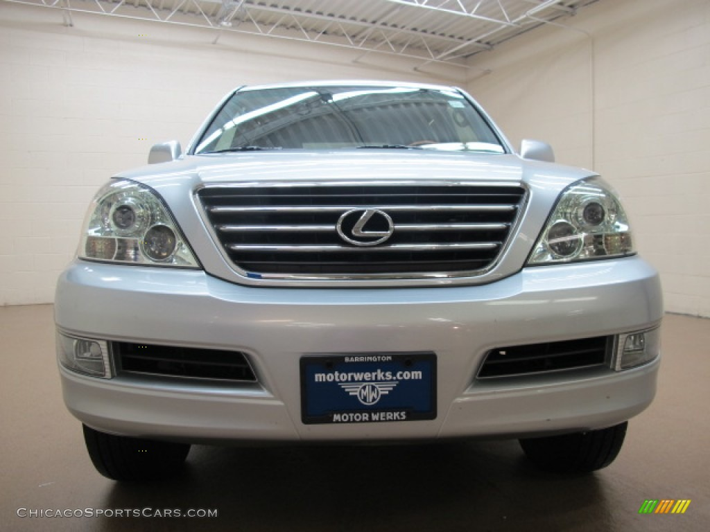 2007 GX 470 - Titanium Metallic / Dark Gray photo #3