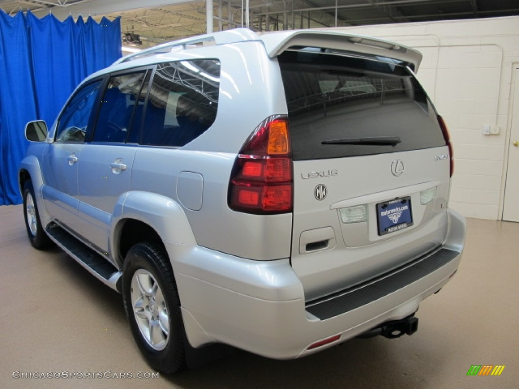 2007 GX 470 - Titanium Metallic / Dark Gray photo #6