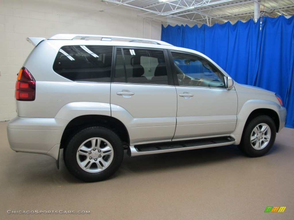 2007 GX 470 - Titanium Metallic / Dark Gray photo #10
