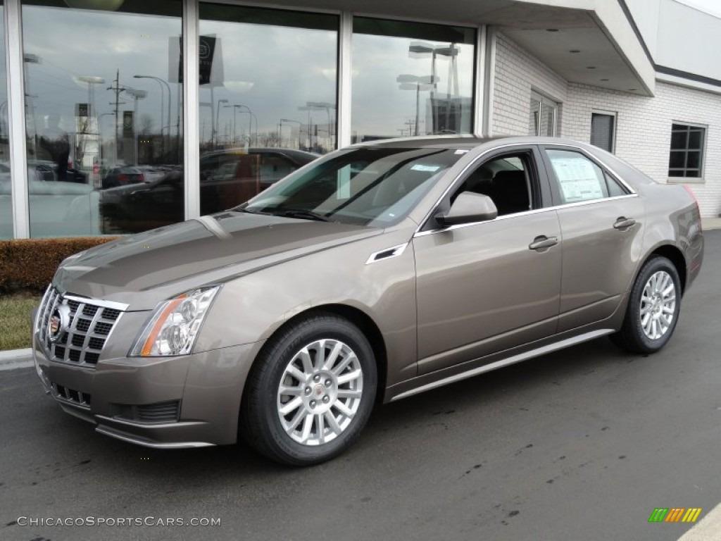 2012 Cadillac Cts 4 3 0 Awd Sedan In Mocha Steel Metallic