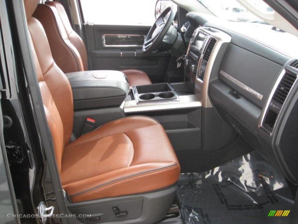 2011 dodge ram 2500 hd laramie longhorn mega cab 4x4 in brilliant black crystal pearl photo 7. Black Bedroom Furniture Sets. Home Design Ideas