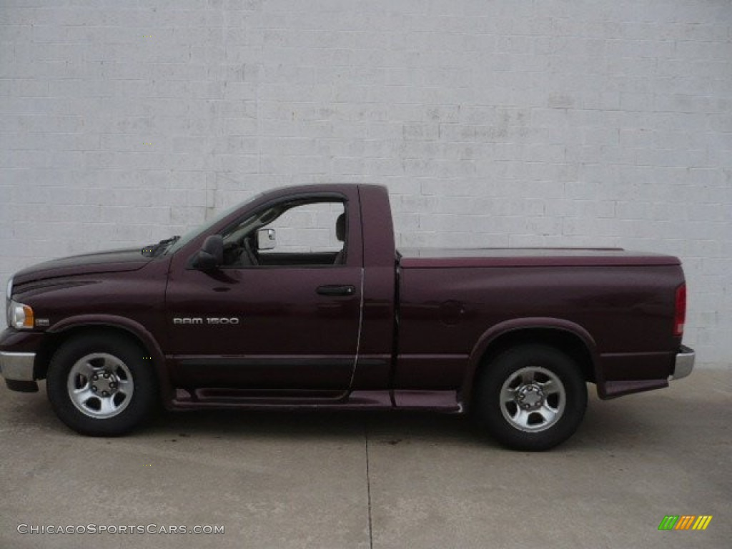 Deep Molten Red Pearl / Dark Slate Gray Dodge Ram 1500 SLT Regular Cab