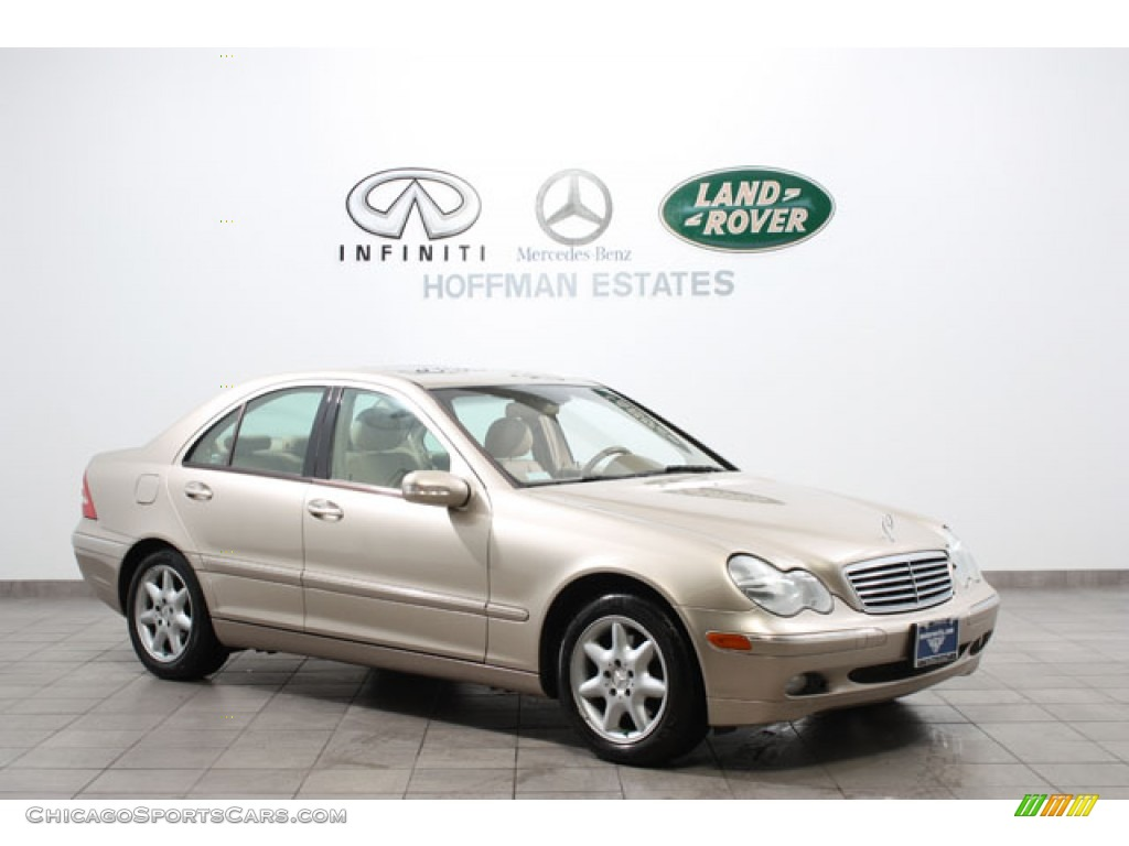 Desert Silver Metallic / Java Mercedes-Benz C 240 4Matic Sedan