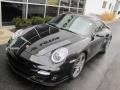 Porsche 911 Turbo Coupe Basalt Black Metallic photo #10
