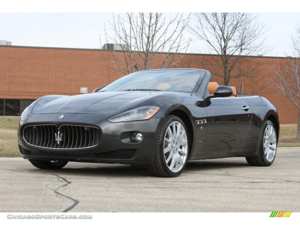 2011 Maserati Granturismo Convertible Grancabrio In Grigio