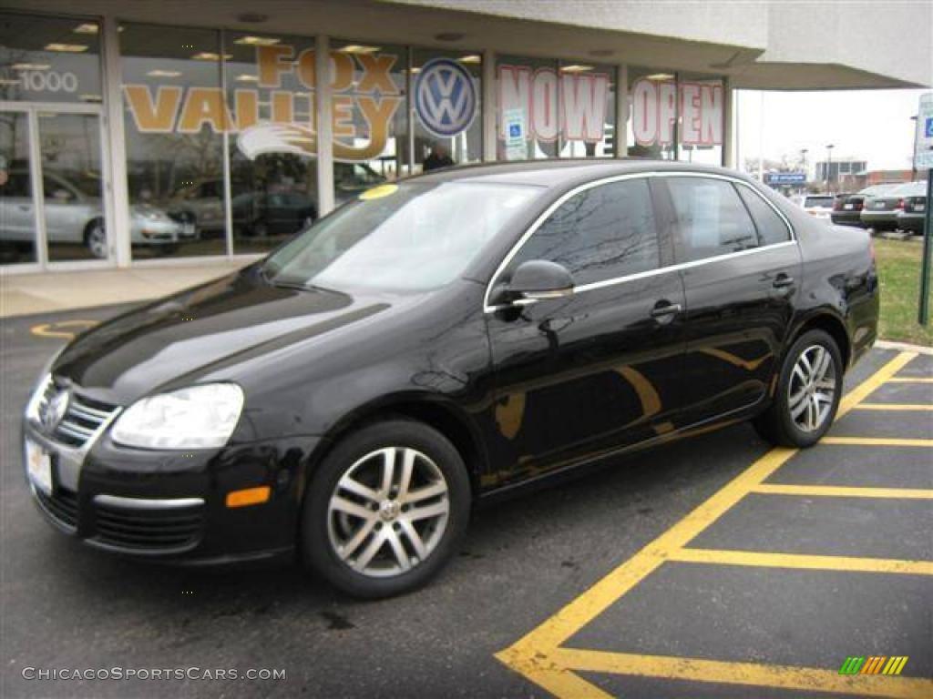 2006 Volkswagen Jetta 2 5 Sedan In Black 633975 Chicagosportscars Com Cars For Sale In