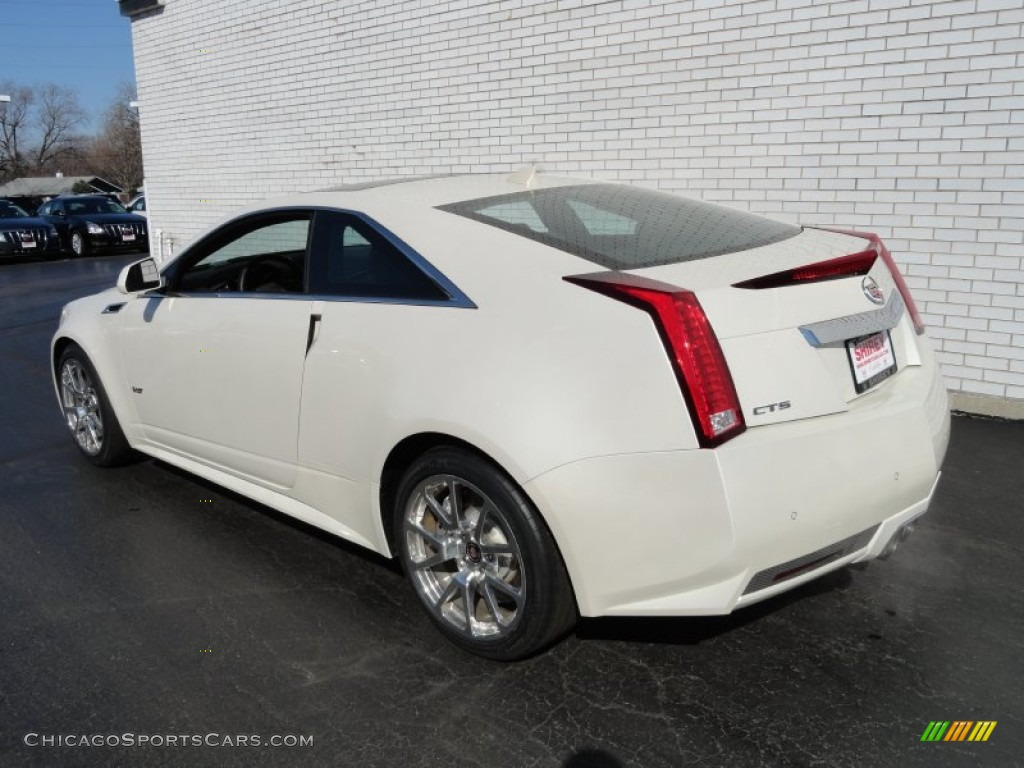2012 cadillac cts v coupe in white diamond tricoat photo 6 122446. Black Bedroom Furniture Sets. Home Design Ideas