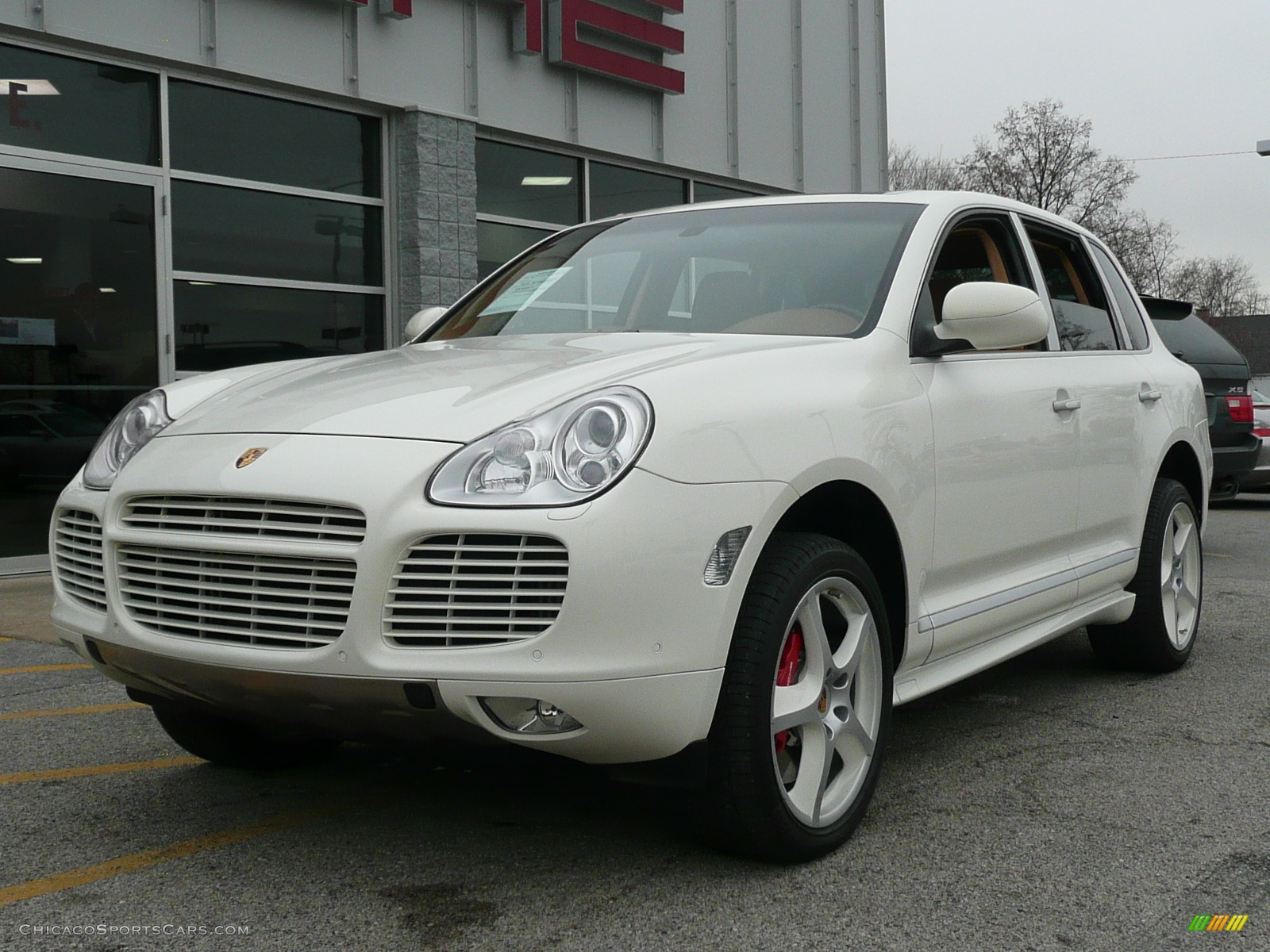 2006 porsche cayenne turbo s in sand white a93215 cars for sale in. Black Bedroom Furniture Sets. Home Design Ideas