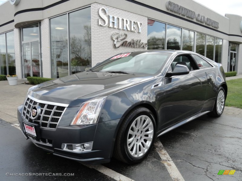 2012 Cadillac Cts Coupe In Thunder Gray Chromaflair