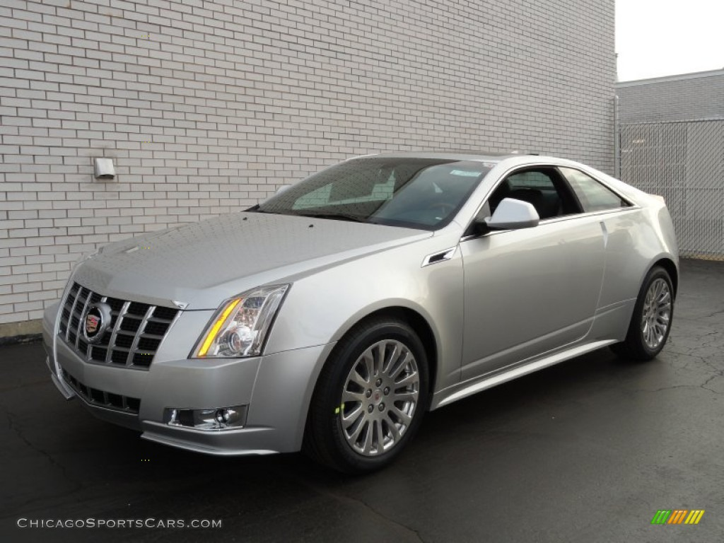 2012 Cadillac Cts Coupe In Radiant Silver Metallic