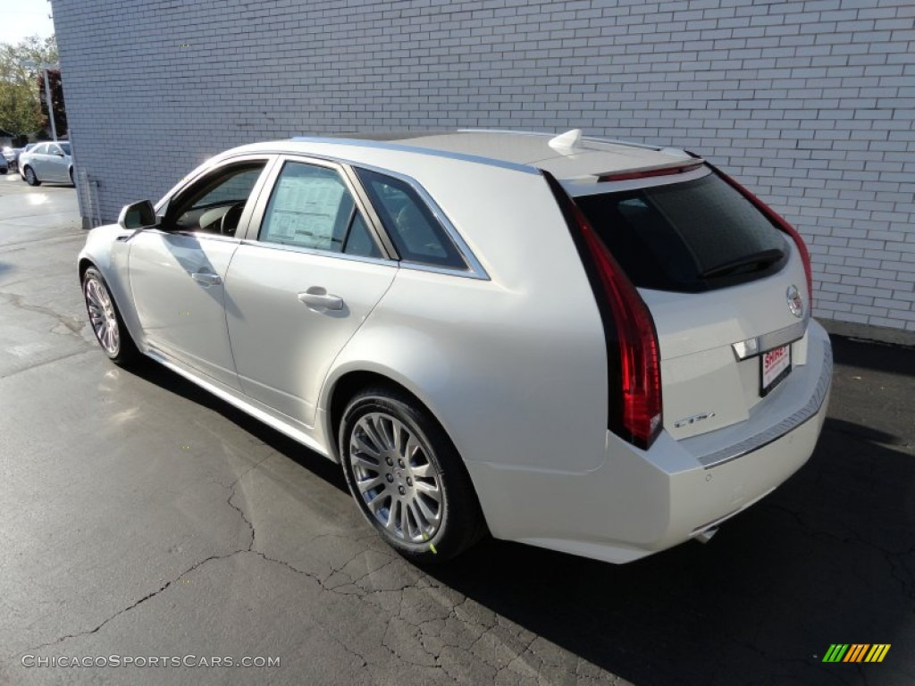 2012 cadillac cts 4 3 6 awd sport wagon in white diamond tricoat photo 6 152117. Black Bedroom Furniture Sets. Home Design Ideas