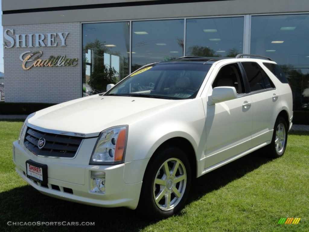 2005 Cadillac Srx V6 In White Diamond 231925