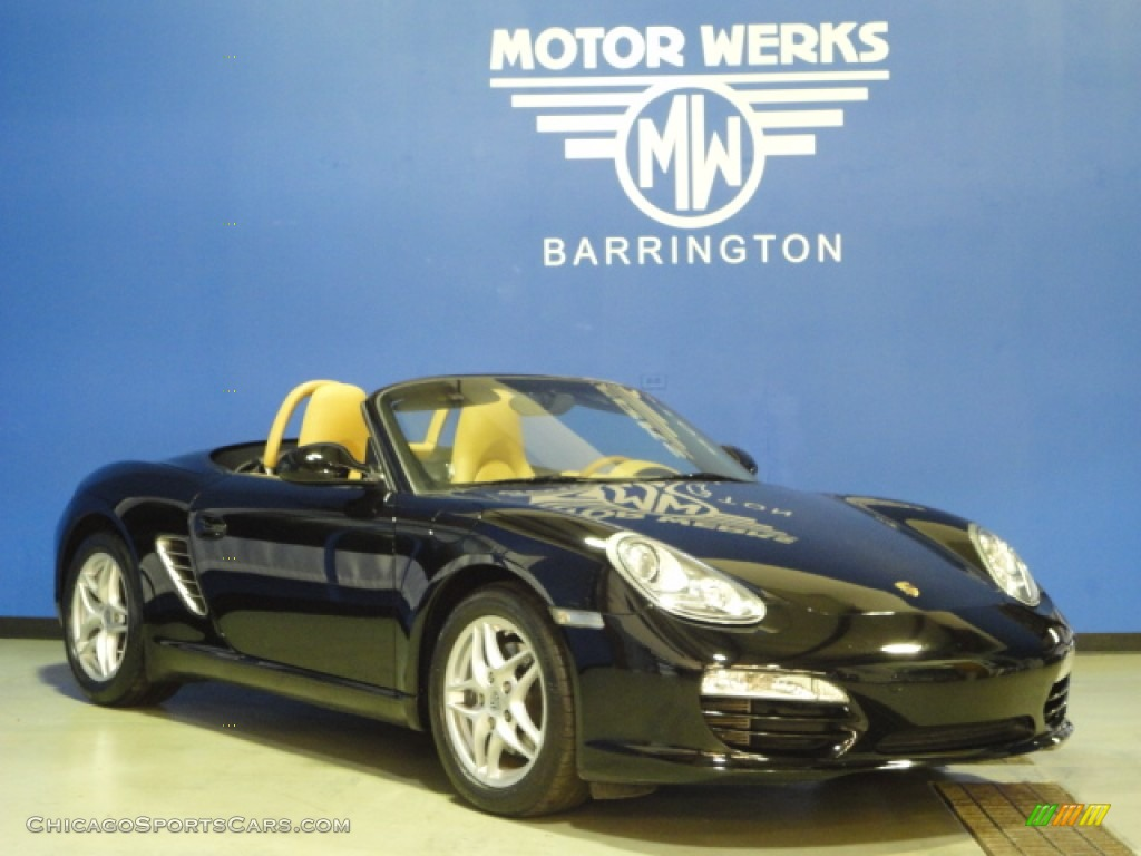 2009 porsche boxster in black photo 15 710552 for Motor werks barrington used cars
