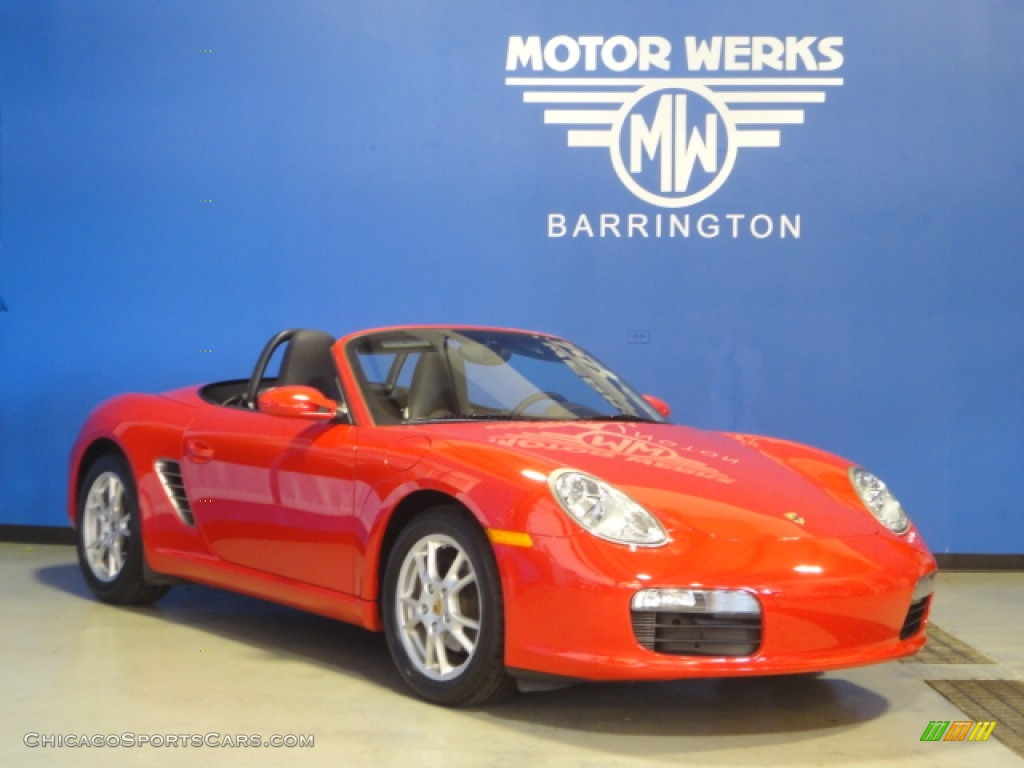 2008 porsche boxster in guards red photo 3 712197 for Motor werks barrington used cars