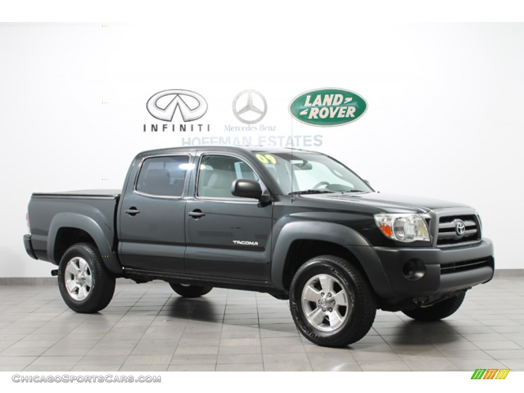 2009 toyota tacoma v6 double cab 4x4 in magnetic gray metallic 025582. Black Bedroom Furniture Sets. Home Design Ideas