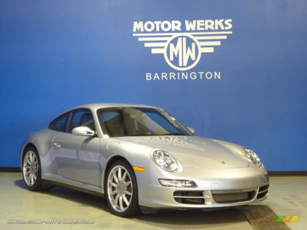 2008 porsche 911 carrera s coupe in gt silver metallic for Motor werks barrington used cars