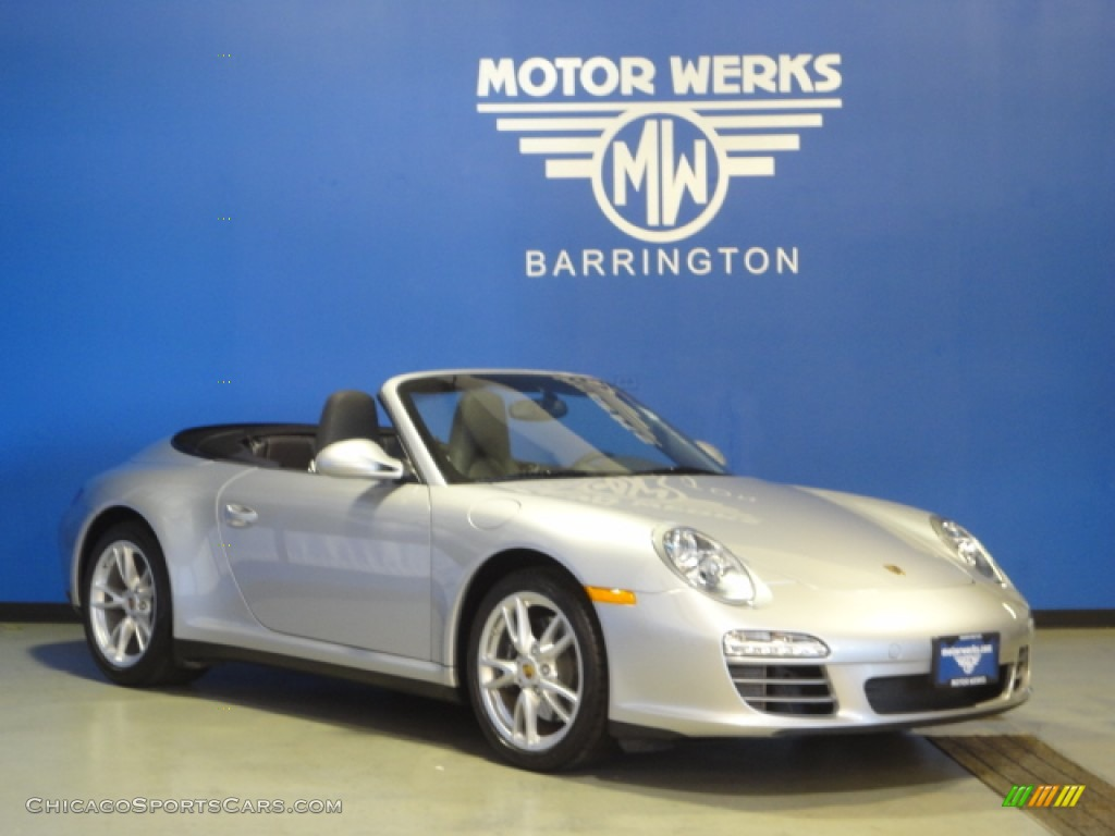 2009 porsche 911 carrera 4 cabriolet in arctic silver for Motor werks barrington used cars
