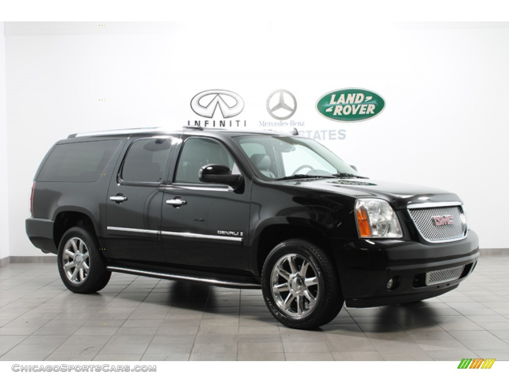 2009 gmc yukon xl denali awd in onyx black 270092 cars for sale in. Black Bedroom Furniture Sets. Home Design Ideas