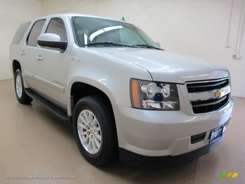 2008 chevrolet tahoe hybrid 4x4 in silver birch metallic. Black Bedroom Furniture Sets. Home Design Ideas