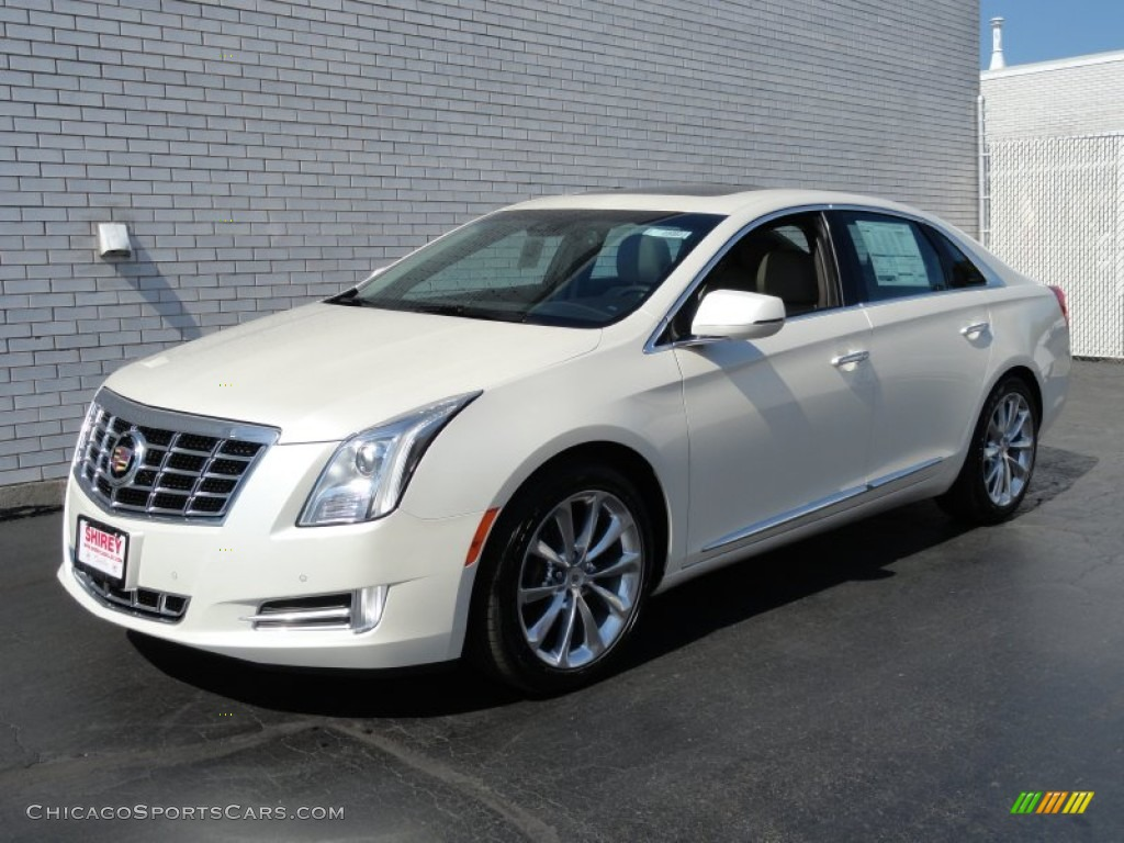 2013 Cadillac XTS Luxury AWD in White Diamond Tricoat - 102744 ...
