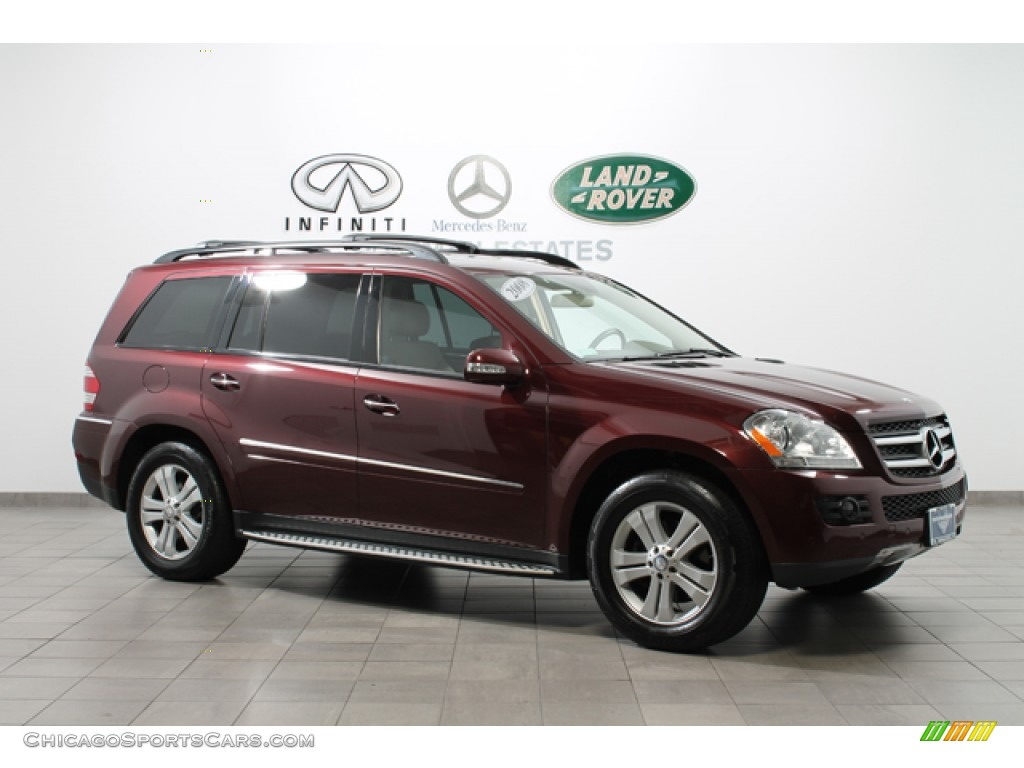 2008 mercedes benz gl 450 4matic in barolo red metallic for Mercedes benz gl 2008