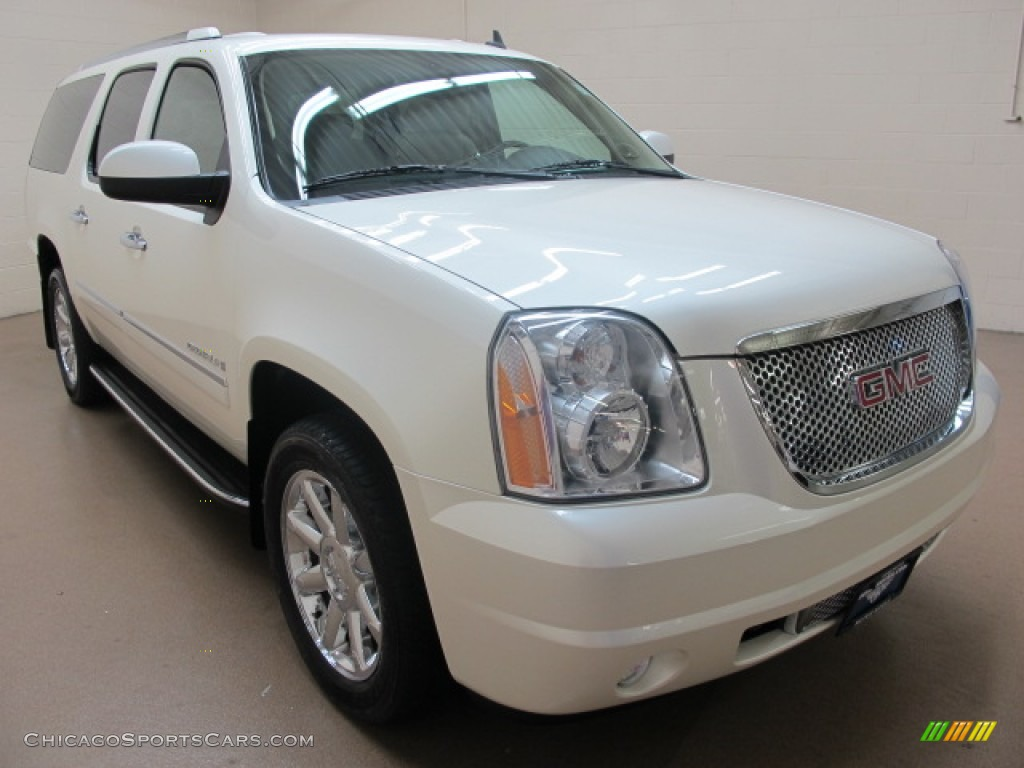 2009 gmc yukon xl denali awd in white diamond tricoat 178253 cars. Black Bedroom Furniture Sets. Home Design Ideas