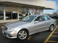 Mercedes-Benz CLK 500 Coupe Brilliant Silver Metallic photo #1