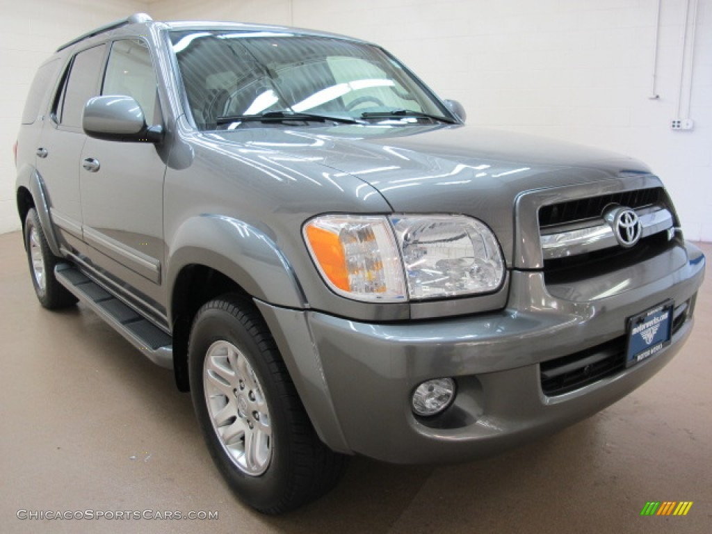 2005 toyota sequoia sr5 4wd in phantom gray pearl 239001 cars for. Black Bedroom Furniture Sets. Home Design Ideas