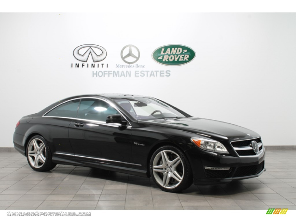 2011 mercedes benz cl 63 amg in obsidian black metallic. Black Bedroom Furniture Sets. Home Design Ideas