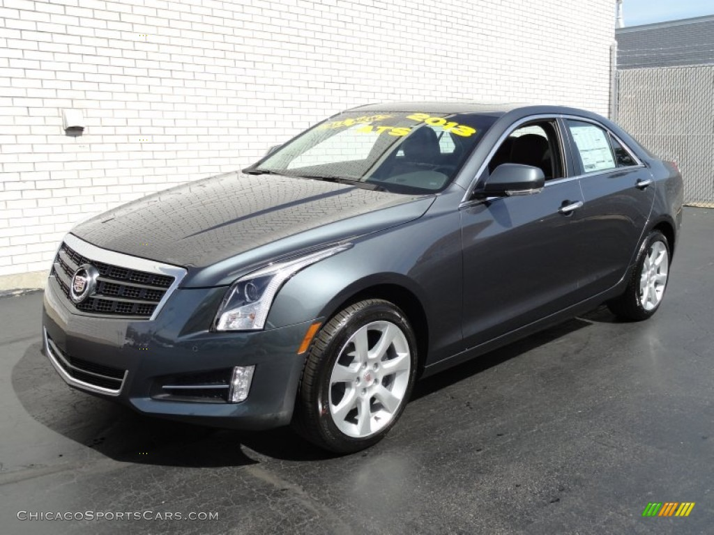 2013 cadillac ats 3 6l performance awd in thunder gray chromaflair 113511 chicagosportscars. Black Bedroom Furniture Sets. Home Design Ideas