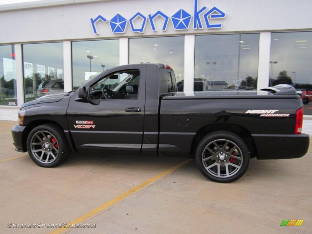 2006 Dodge Ram Srt 10 Night Runner For Sale >> 2006 Dodge Ram 1500 SRT-10 Night Runner Regular Cab in Black photo #30 - 269280 ...