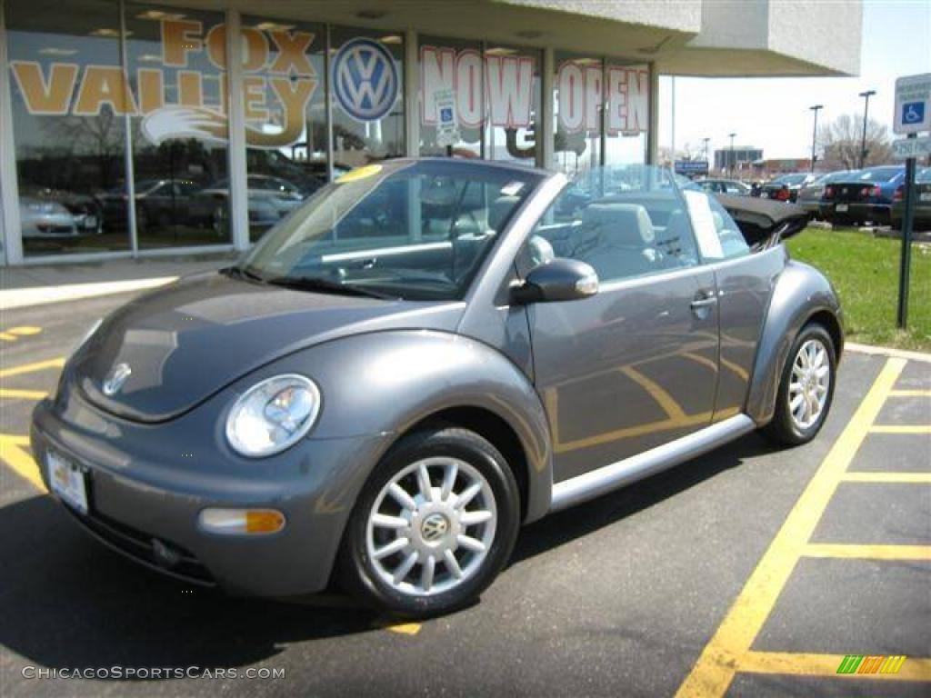 2005 Volkswagen New Beetle GLS Convertible in Platinum Grey Metallic - 316523 ...