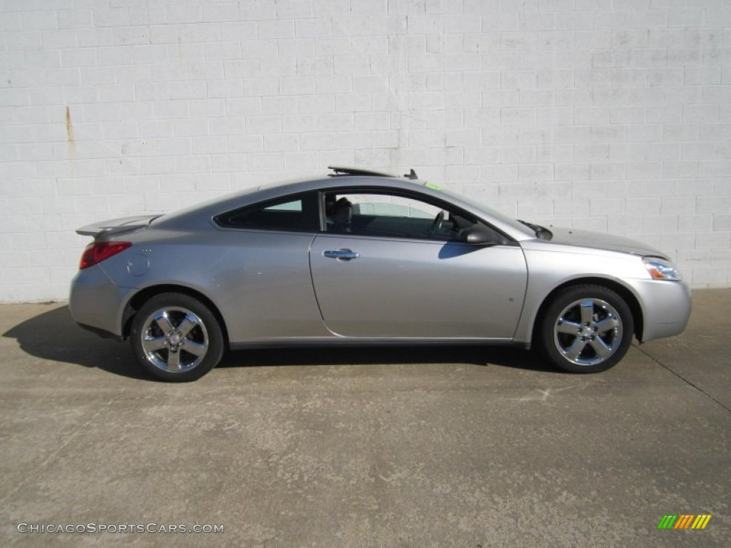 2008 Pontiac G6 Gt Coupe In Liquid Silver Metallic