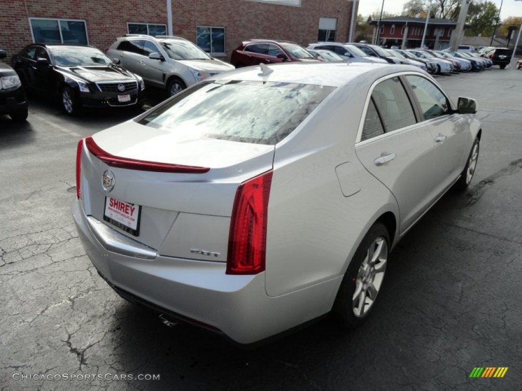 2013 Cadillac Ats 2.0 L Turbo >> 2013 Cadillac ATS 2.0L Turbo AWD in Radiant Silver ...