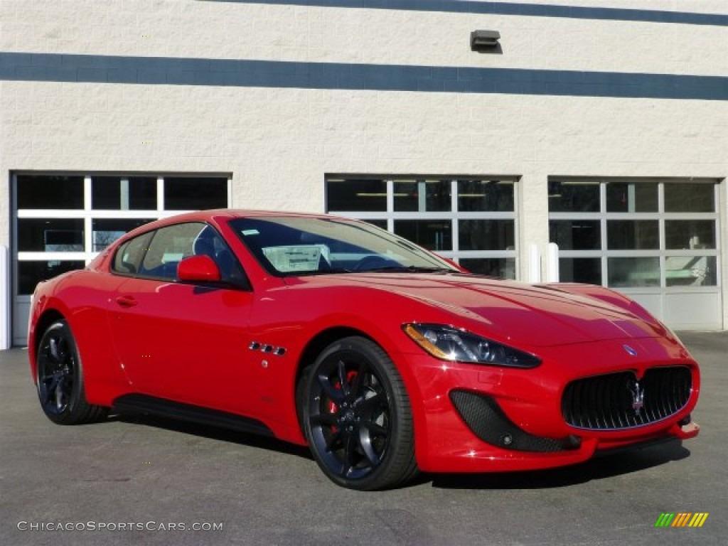 2013 maserati granturismo sport coupe in rosso mondiale - Maserati granturismo red interior ...