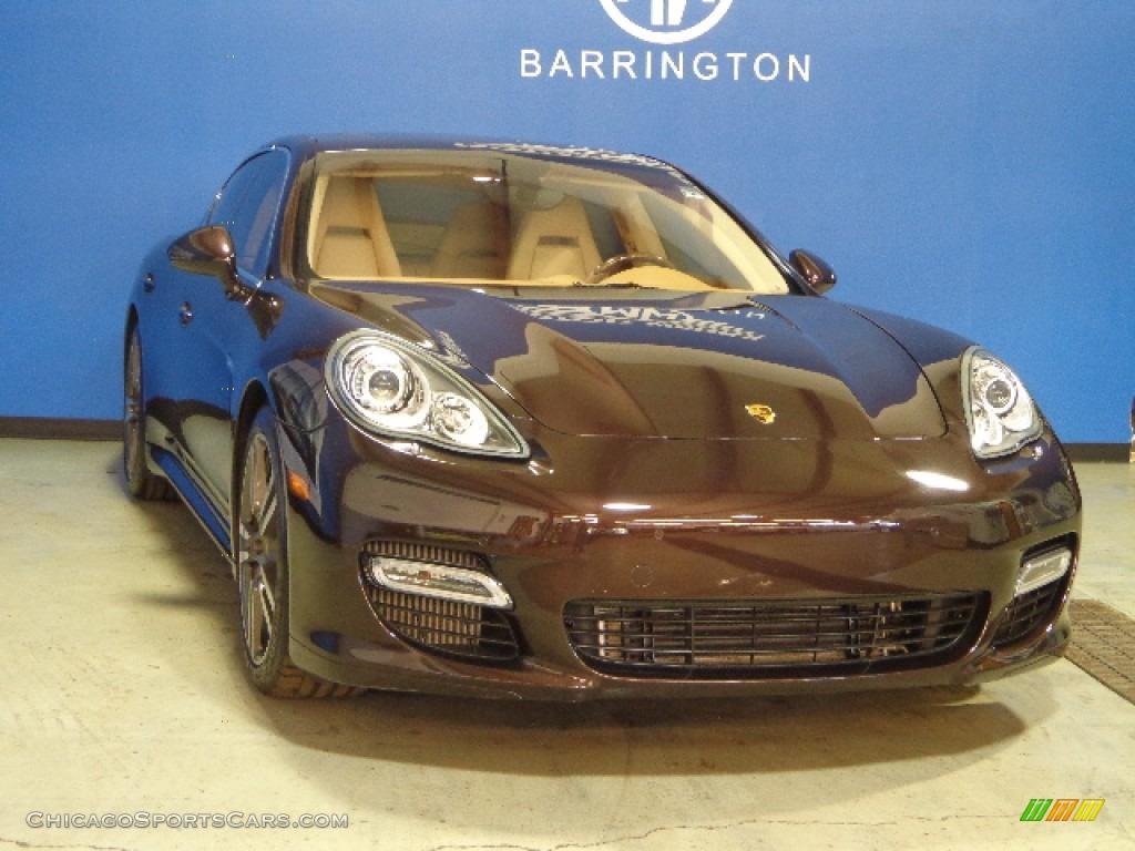 2010 Porsche Panamera Turbo In Mahogany Metallic 090737 Chicagosportscars Com Cars For