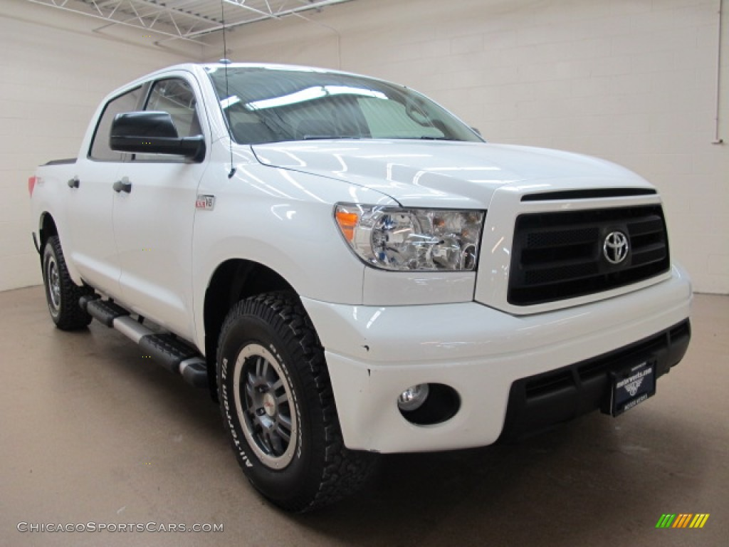 2011 toyota tundra trd rock warrior crewmax 4x4 in super white 172993. Black Bedroom Furniture Sets. Home Design Ideas
