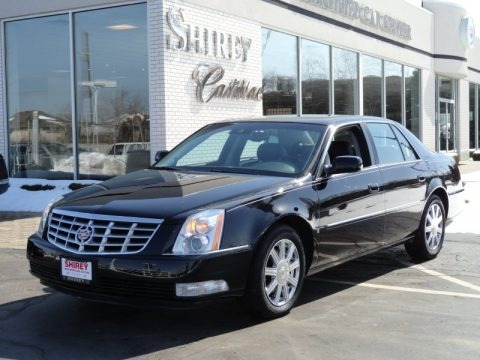 Black Raven 2008 Cadillac DTS Luxury