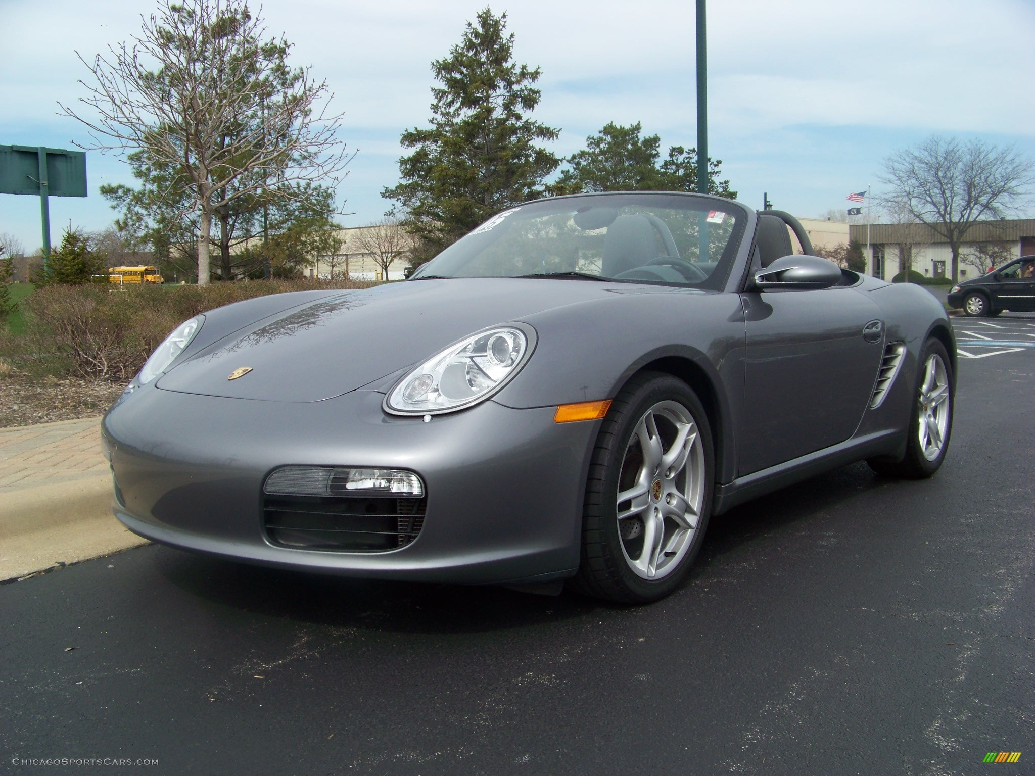 2005 porsche boxster in seal grey metallic 711392. Black Bedroom Furniture Sets. Home Design Ideas