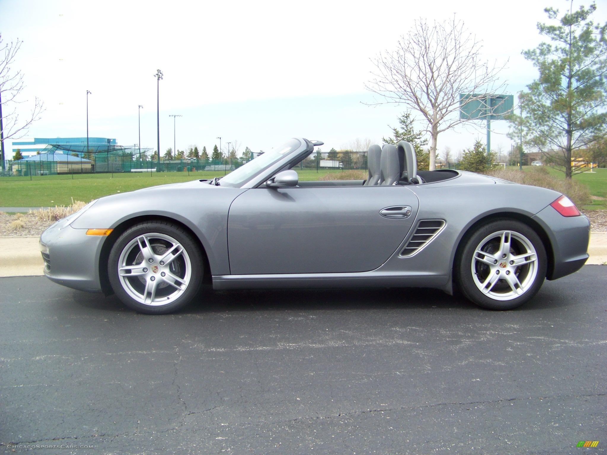 2005 Porsche Boxster In Seal Grey Metallic Photo 4