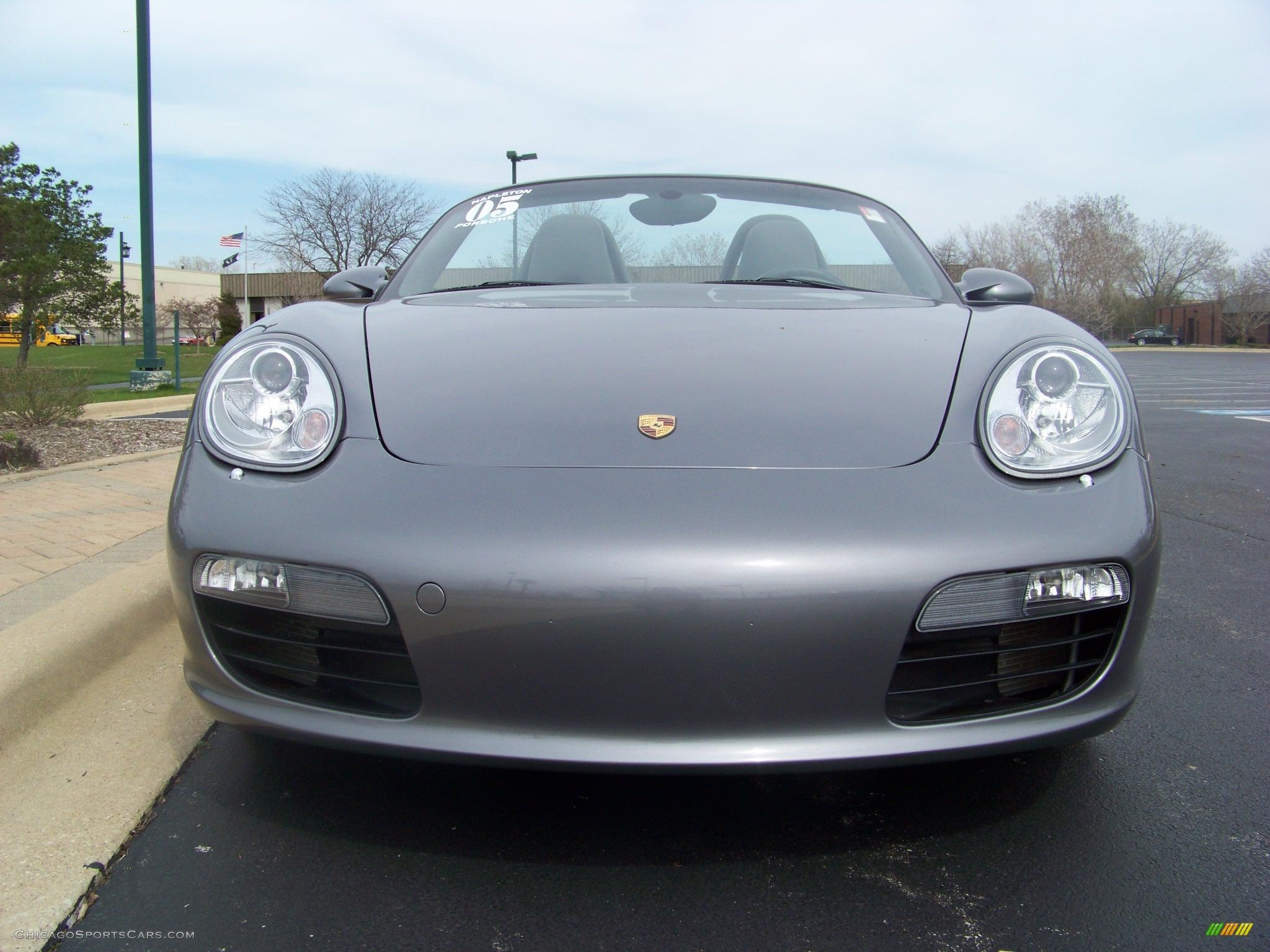 2005 Porsche Boxster In Seal Grey Metallic Photo 9