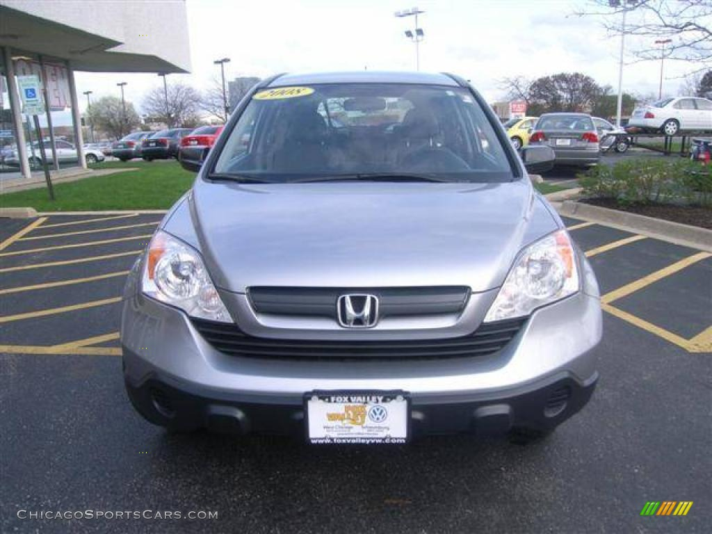 2008 Honda CR-V LX 4WD in Whistler Silver Metallic photo #7 - 013598 ...