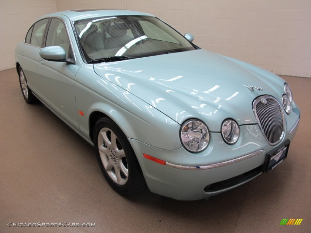2005 jaguar s type 4 2 in seafrost metallic n47924. Black Bedroom Furniture Sets. Home Design Ideas